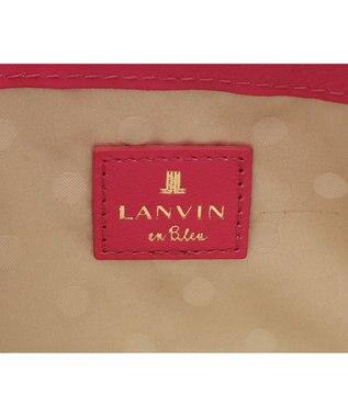 LANVIN en Bleu LANVIN en Bleu ランバンオンブルー ミネット ラウンド長財布 カシスピンク