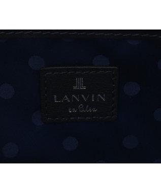 LANVIN en Bleu LANVIN en Bleu ランバンオンブルー ミネット ラウンド長財布 ダークネイビー