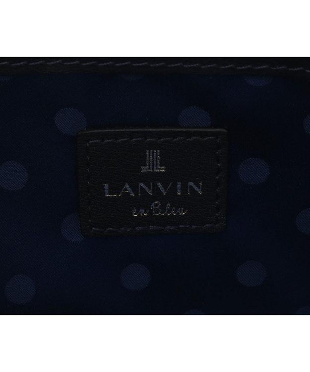 LANVIN en Bleu LANVIN en Bleu ランバンオンブルー ミネット ラウンド長財布