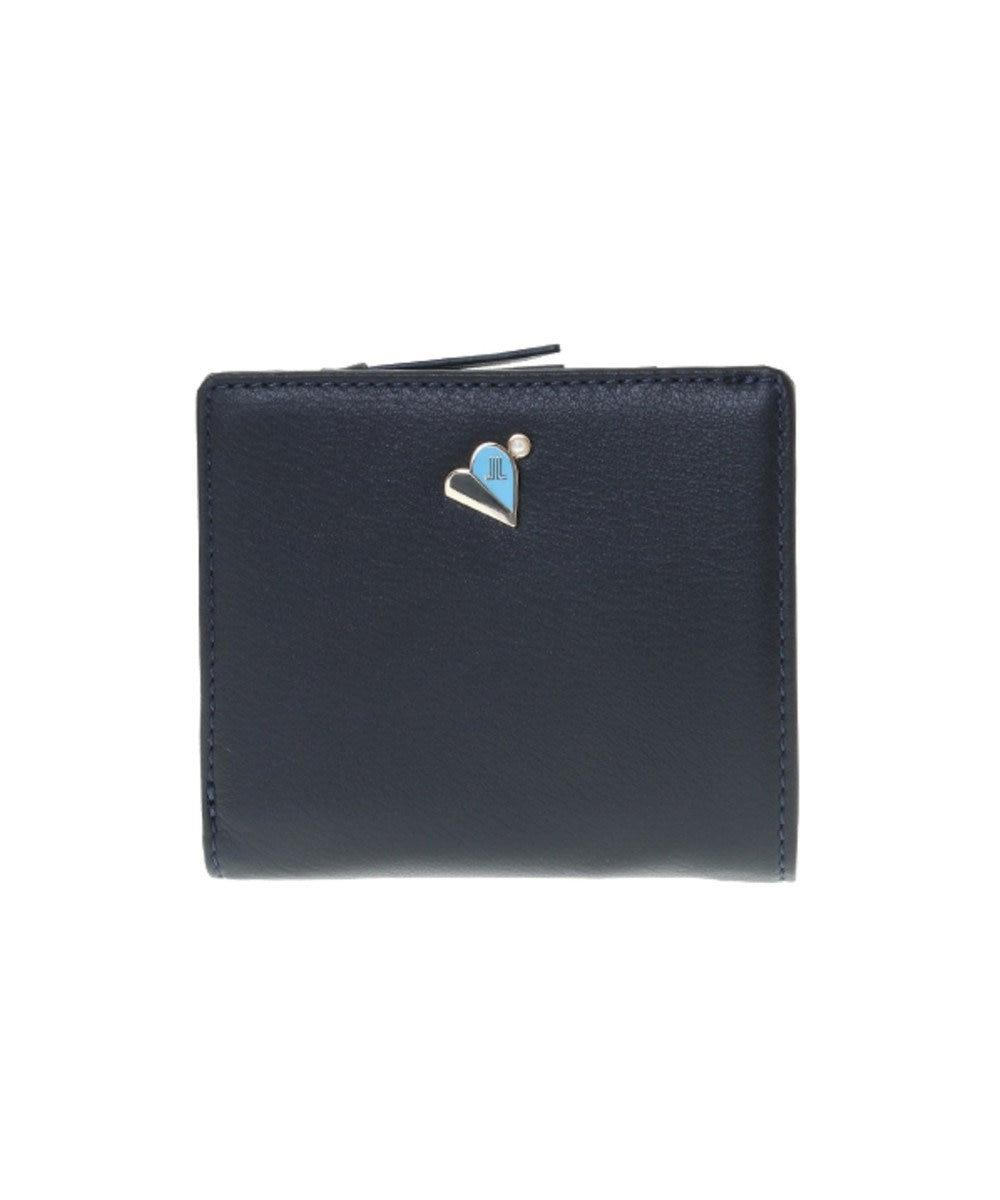 LANVIN en Bleu LANVIN en Bleu ランバンオンブルー ミネット Lファスナー二つ折り財布 ダークネイビー