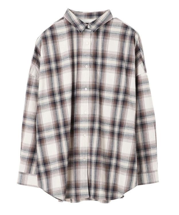 AMERICAN HOLIC 綿ビエラドルマンチェックシャツ