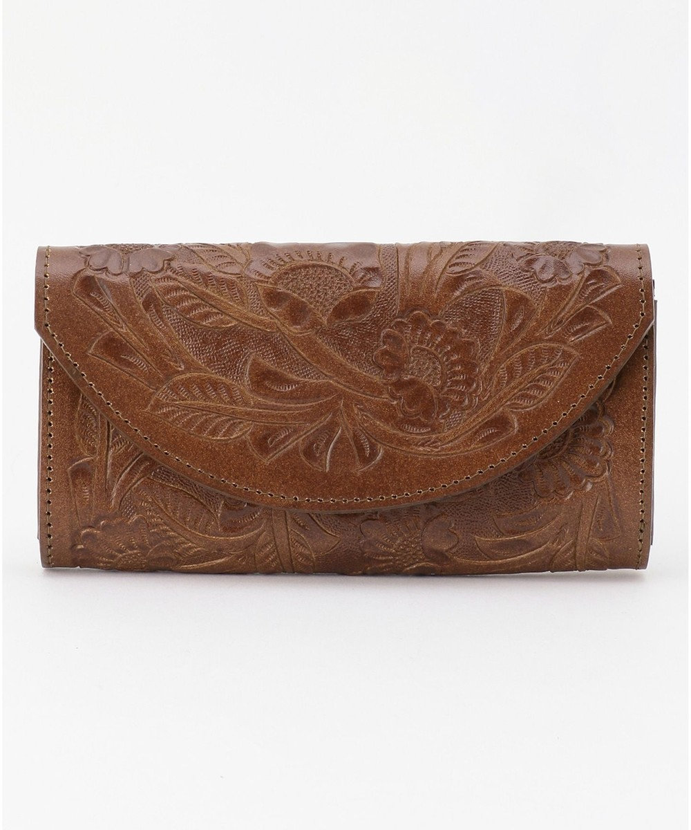 GRACE CONTINENTAL Flap Wallet-20AW ダークブラウン