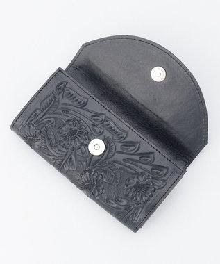 GRACE CONTINENTAL Flap Wallet-20AW ネイビー