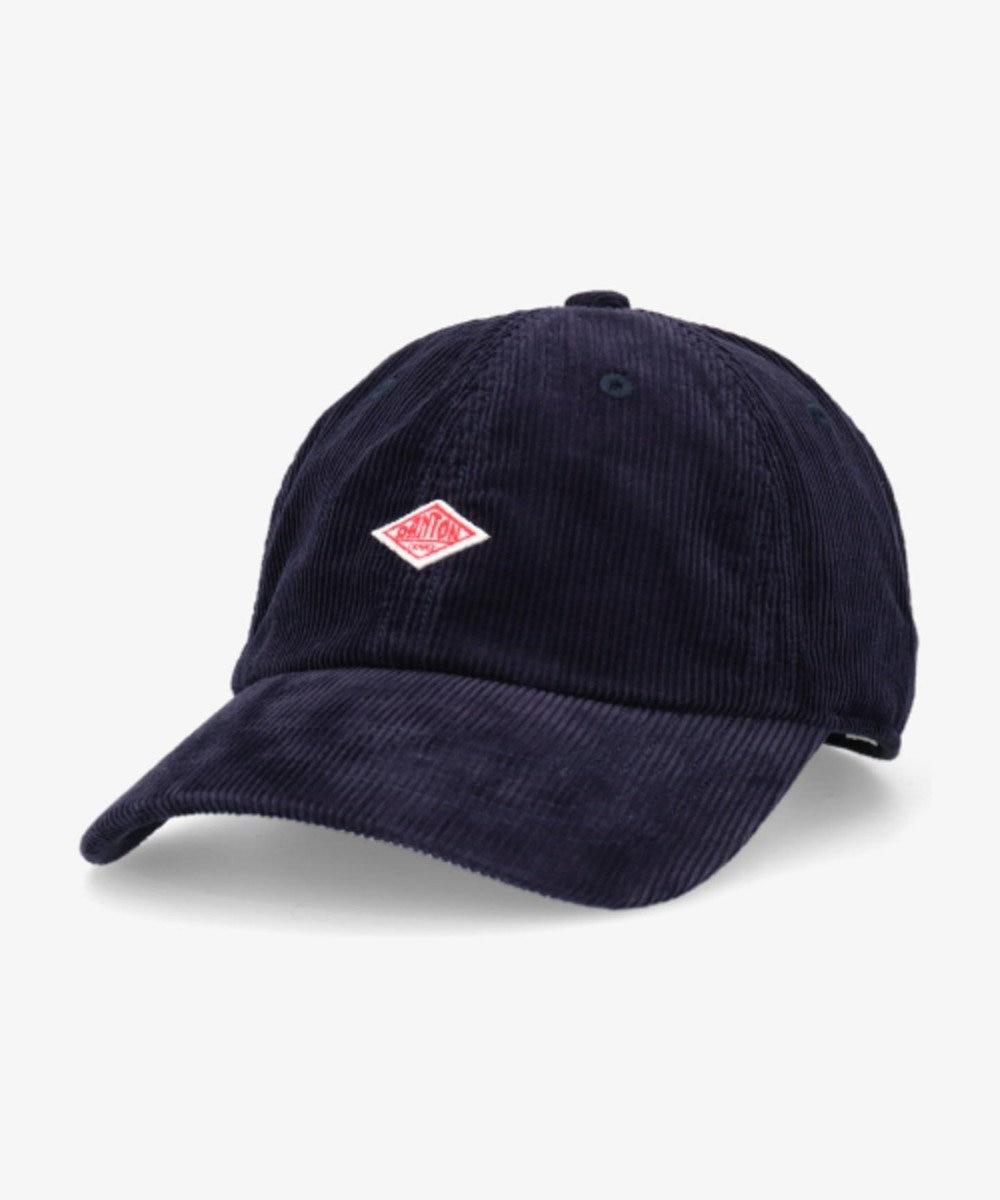 Hat Homes 【DANTON/ダントン】コーデュロイ キャップ ネイビー