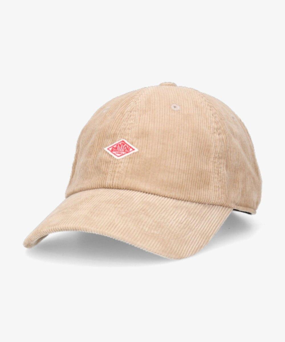 Hat Homes 【DANTON/ダントン】コーデュロイ キャップ ライトベージュ