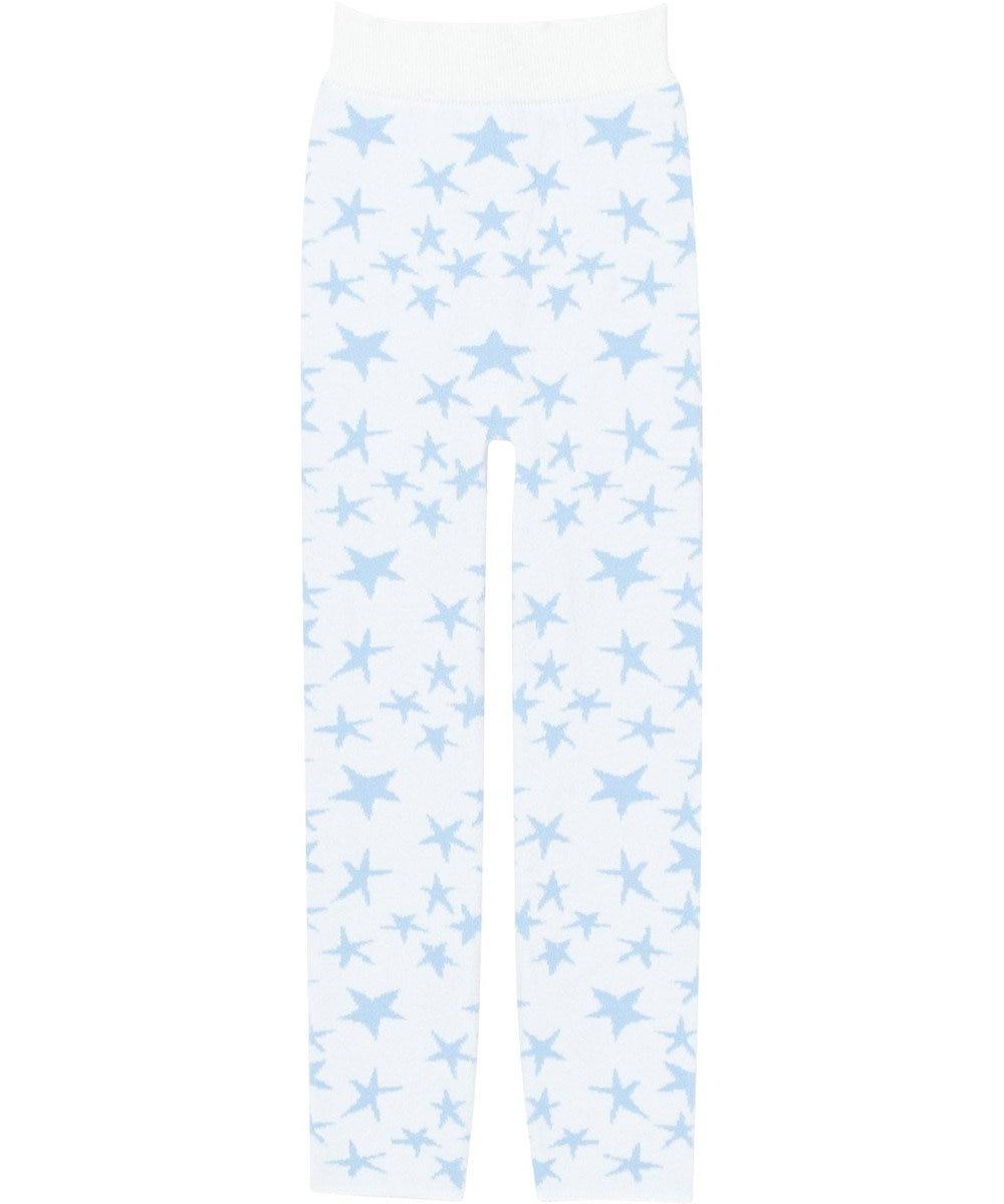 tsumori chisato SLEEP 毛パン ロング丈 星柄 /ワコール UER315 アイボリー