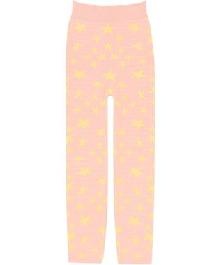 tsumori chisato SLEEP 毛パン ロング丈 星柄 /ワコール UER315 ピンク