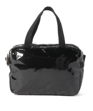 LeSportsac MICRO BAG/ブラックパテントシル ブラックパテントシル