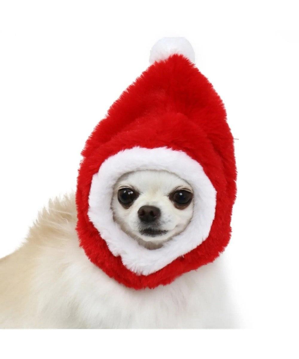 PET PARADISE ペットパラダイス サンタ 帽子〔小型犬〕 クリスマス 赤