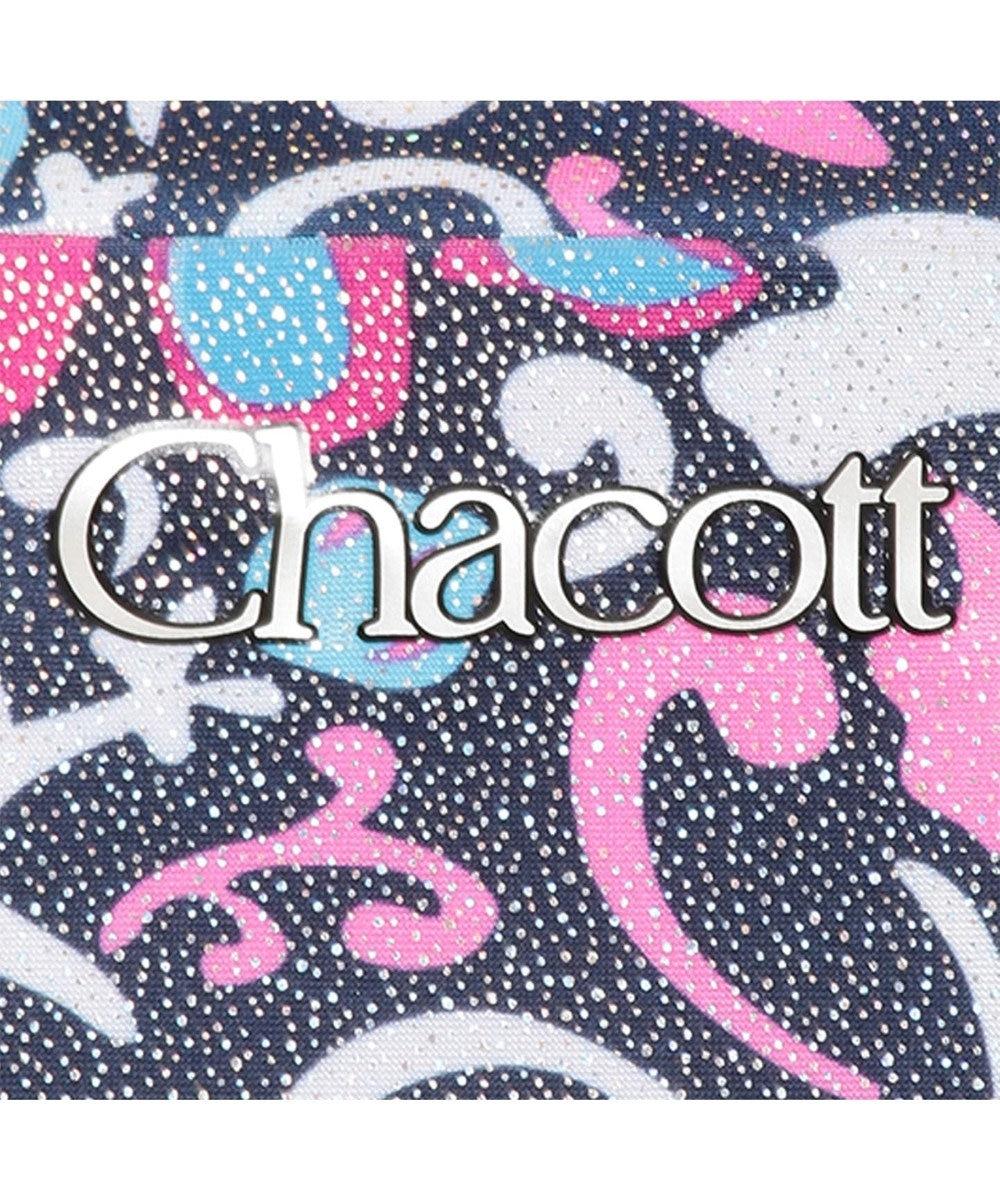 Chacott Yバックロングトップ【オンラインショップ限定】 ネイビー箔