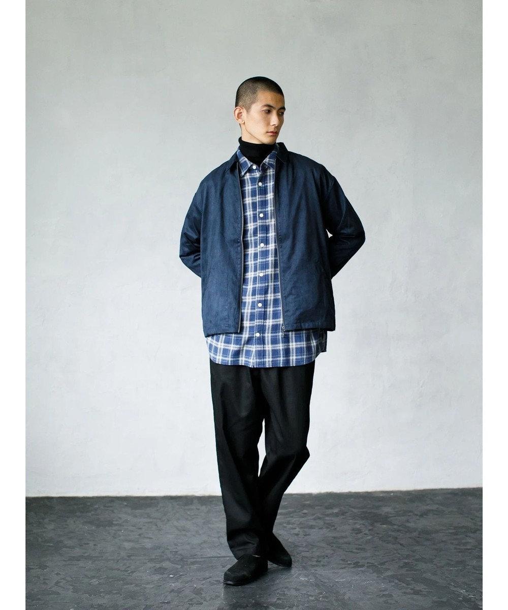 koe (マシーンウォッシャブル)タートルネックニット Dark Blue