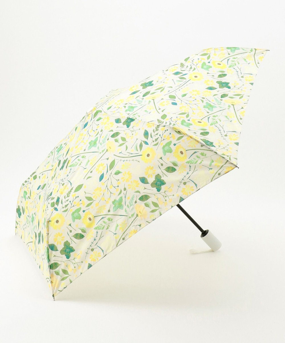 MOONBAT estaa 自動開閉折りたたみ傘 はなばな カナリア