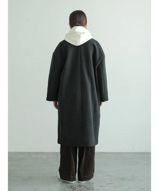 AMERICAN HOLIC ドロップショルダーニュアンスコート