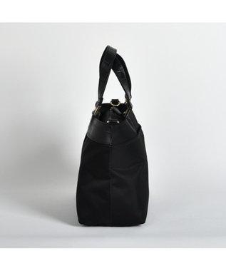 LA BAGAGERIE 【復刻リニューアル】ナイロン×カウレザー トートSサイズ ブラック