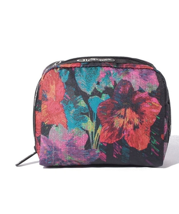 LeSportsac RE-SQUARE COSMETIC/エコ カメリア ガーデン