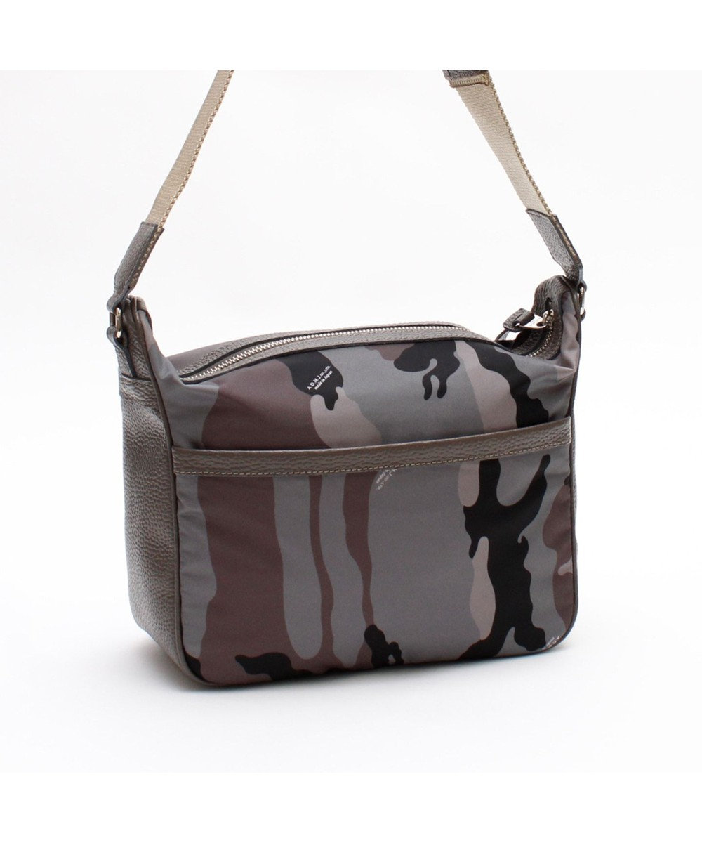 A.D.M.J. リモンタナイロン 25cm SHOULDER BAG CAMOFLAGE