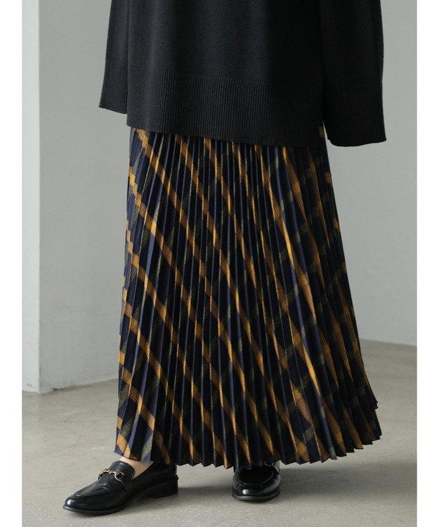AMERICAN HOLIC ウエストフリルプリーツスカート
