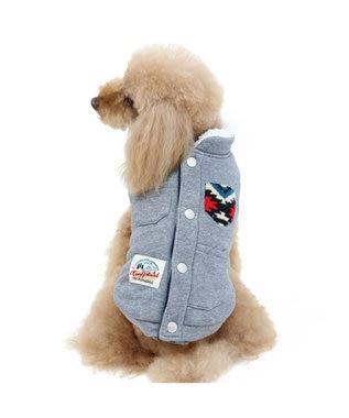 PET PARADISE ペットパラダイス トレッキング 綿入り ベスト〔超小型・小型犬〕 グレー