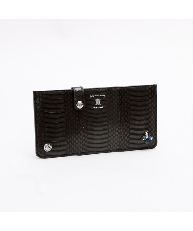 A.D.M.J. The Bee スネークレザー SLIM WALLET