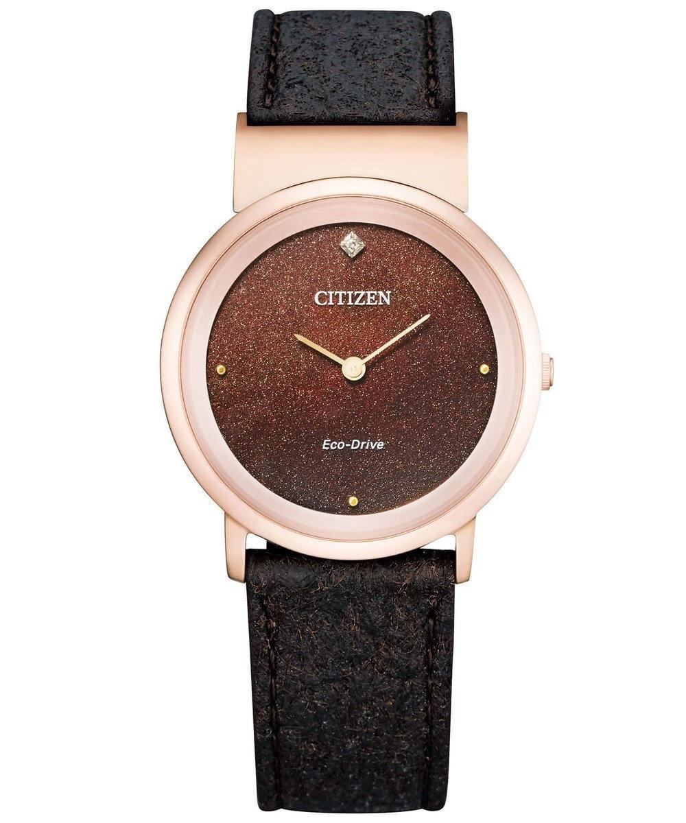 CITIZEN <レディース> シチズンエル Ambiluna EG7078-12X ブラウン
