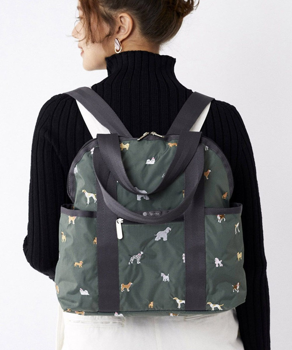 LeSportsac DOUBLE TROUBLE BACKPACK/ブリード オブ ドッグ ブリード オブ ドッグ