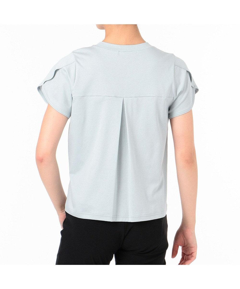 Chacott ペタルスリーブTシャツ ヨーロピアンピンク