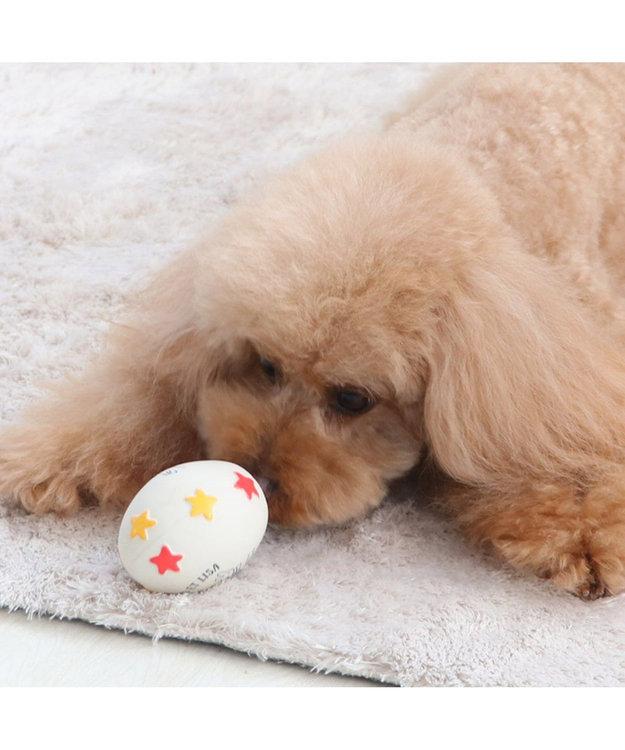 PET PARADISE リサとガスパール 卵 ラテックス トイ 愛犬用 おもちゃ