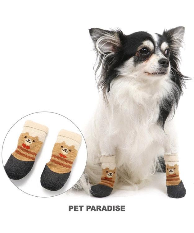 PET PARADISE ペットパラダイス くま フィットシューズ ペットS〔超・小型犬〕