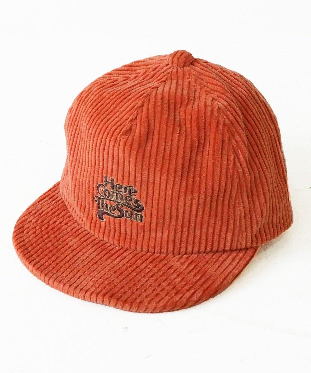 odds CORDUROY 5PANEL CAP(20AW) オレンジ