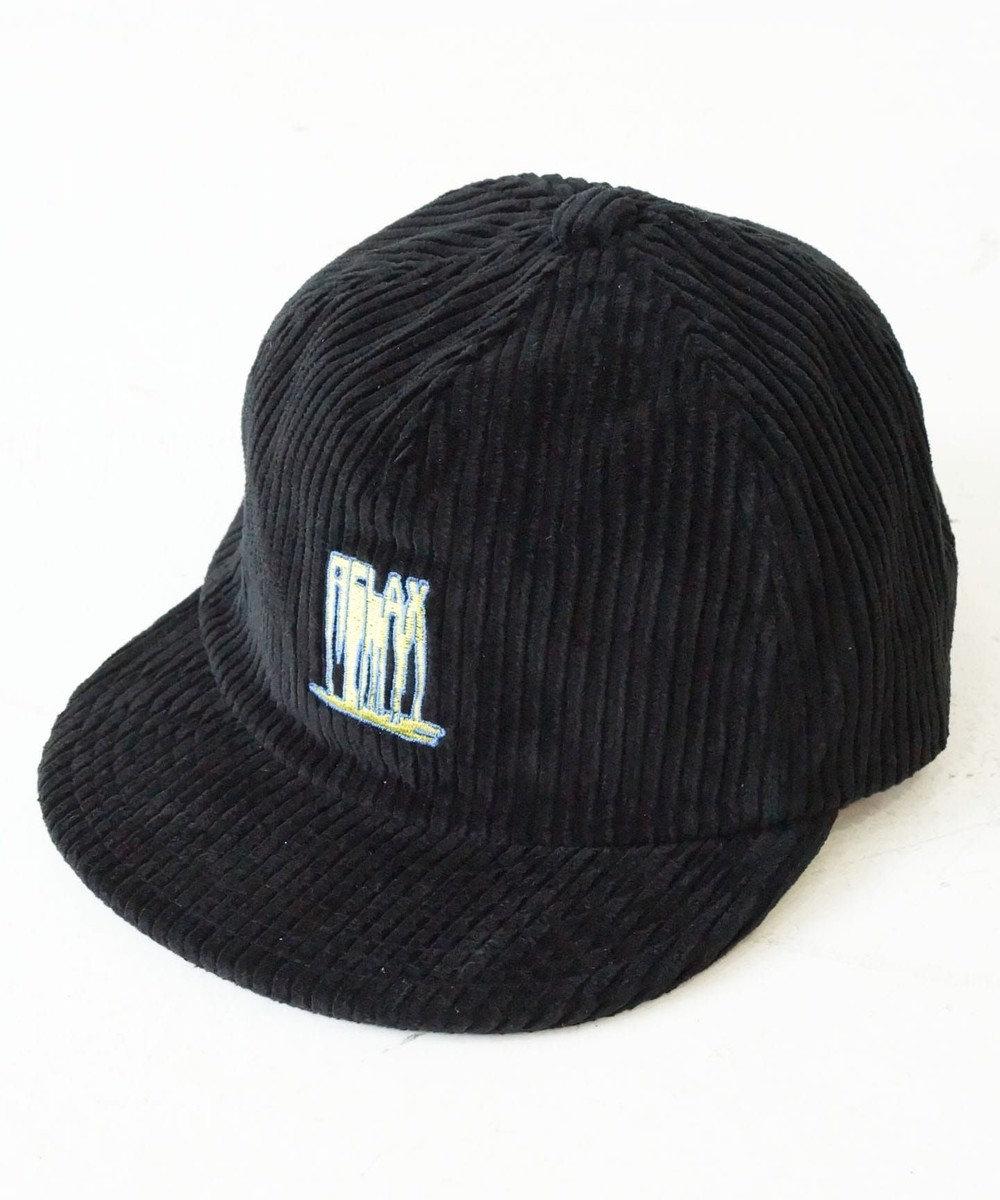 odds CORDUROY 5PANEL CAP(20AW) 黒