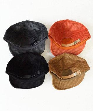 odds CORDUROY 5PANEL CAP(20AW) モカ