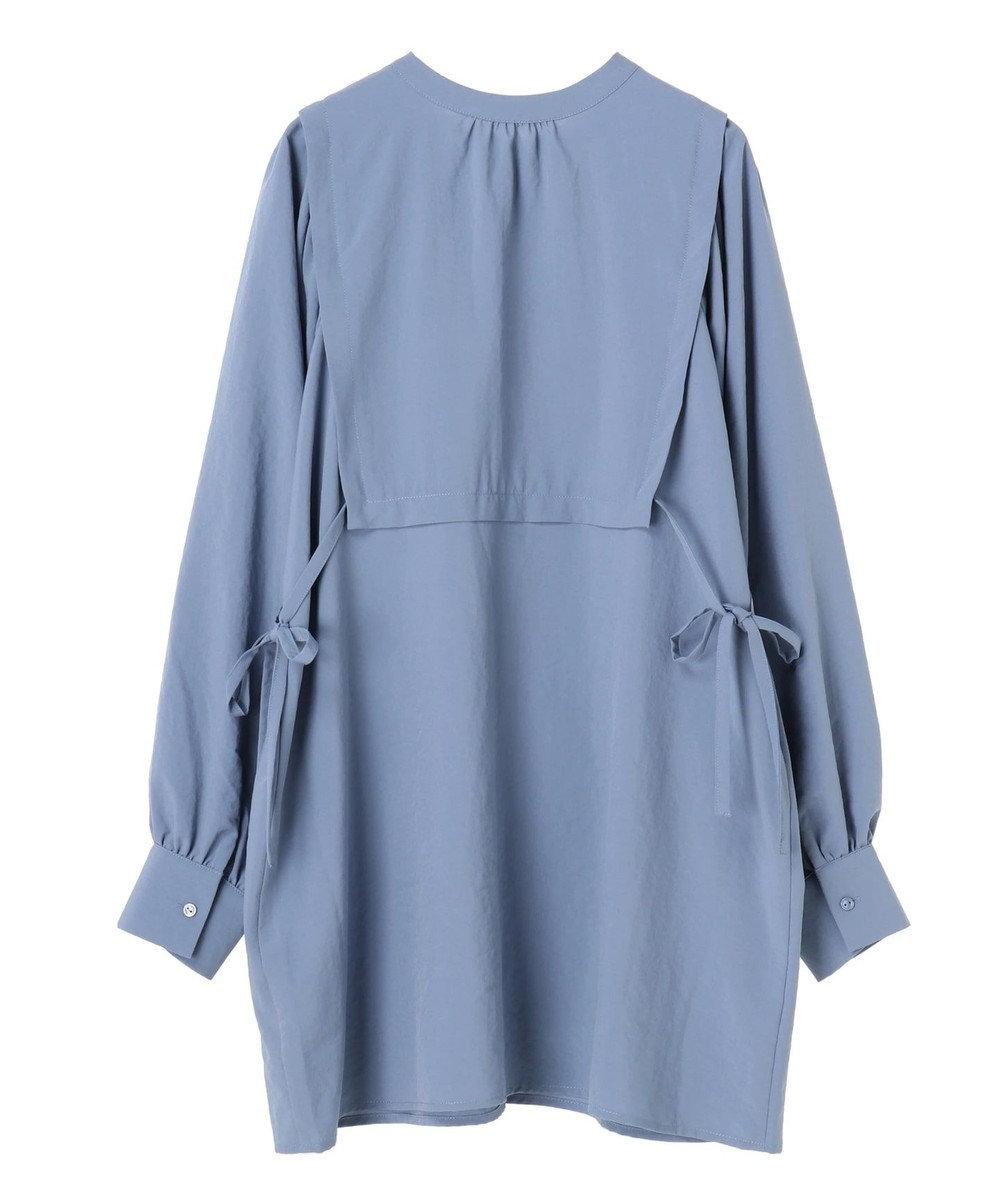 Green Parks ・ELENCARE DUE デザインシャツチュニック Blue