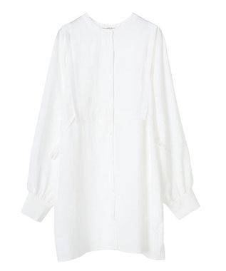 Green Parks ・ELENCARE DUE デザインシャツチュニック Off White