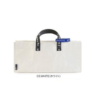 ROOTOTE 6784【TV紹介商品:テイクアウトバッグ】/ テイクアウェイルー.タープ S -A 03:ホワイト
