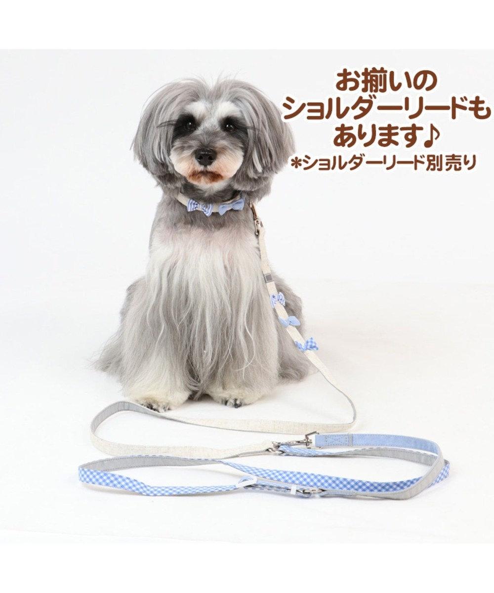 PET PARADISE ペットパラダイス りぼん 首輪  ペット3S 〔小型犬〕 ベージュ