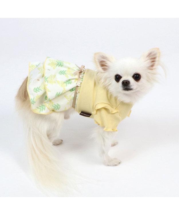 PET PARADISE 犬服 犬用品 ペットグッズ ペットウェア ペットパラダイス 犬 服 春 ワンピース リブ ドッグウエア ドッグウェア イヌ おしゃれ かわいい