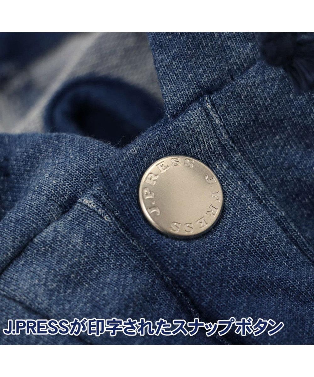 PET PARADISE J.PRESS デニム風パーカ- 〔超小型・小型犬〕 紺(ネイビー・インディゴ)