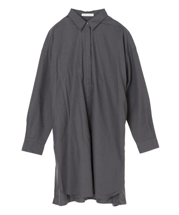 AMERICAN HOLIC レギュラーカラー比翼シャツチュニック