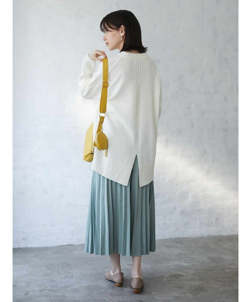 Green Parks ・ELENCARE DUEアコーディオンプリーツスカート Mint Green