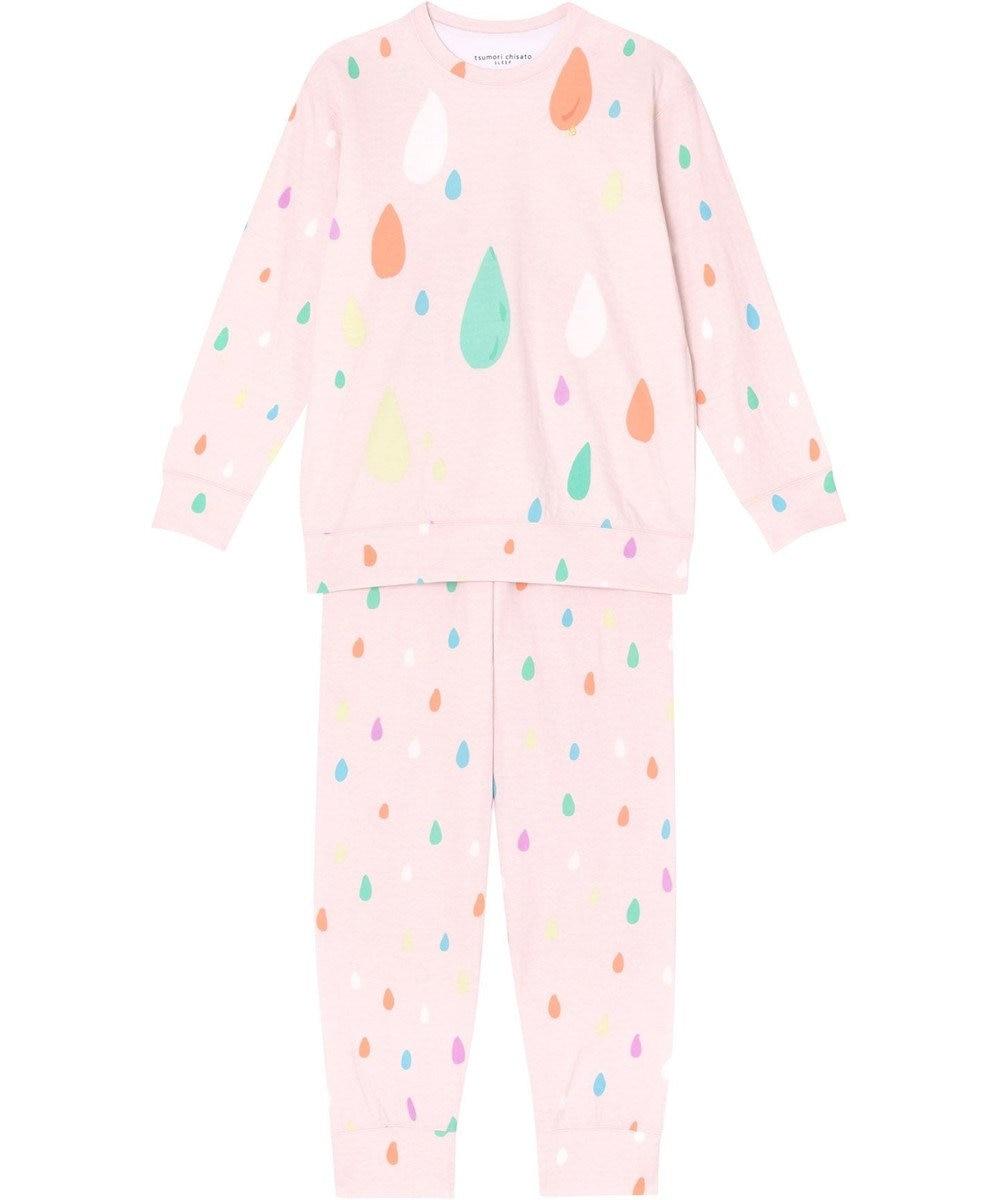 tsumori chisato SLEEP パジャマ ロング袖ロングパンツ しずく柄 /ワコール UDO663 ピンク