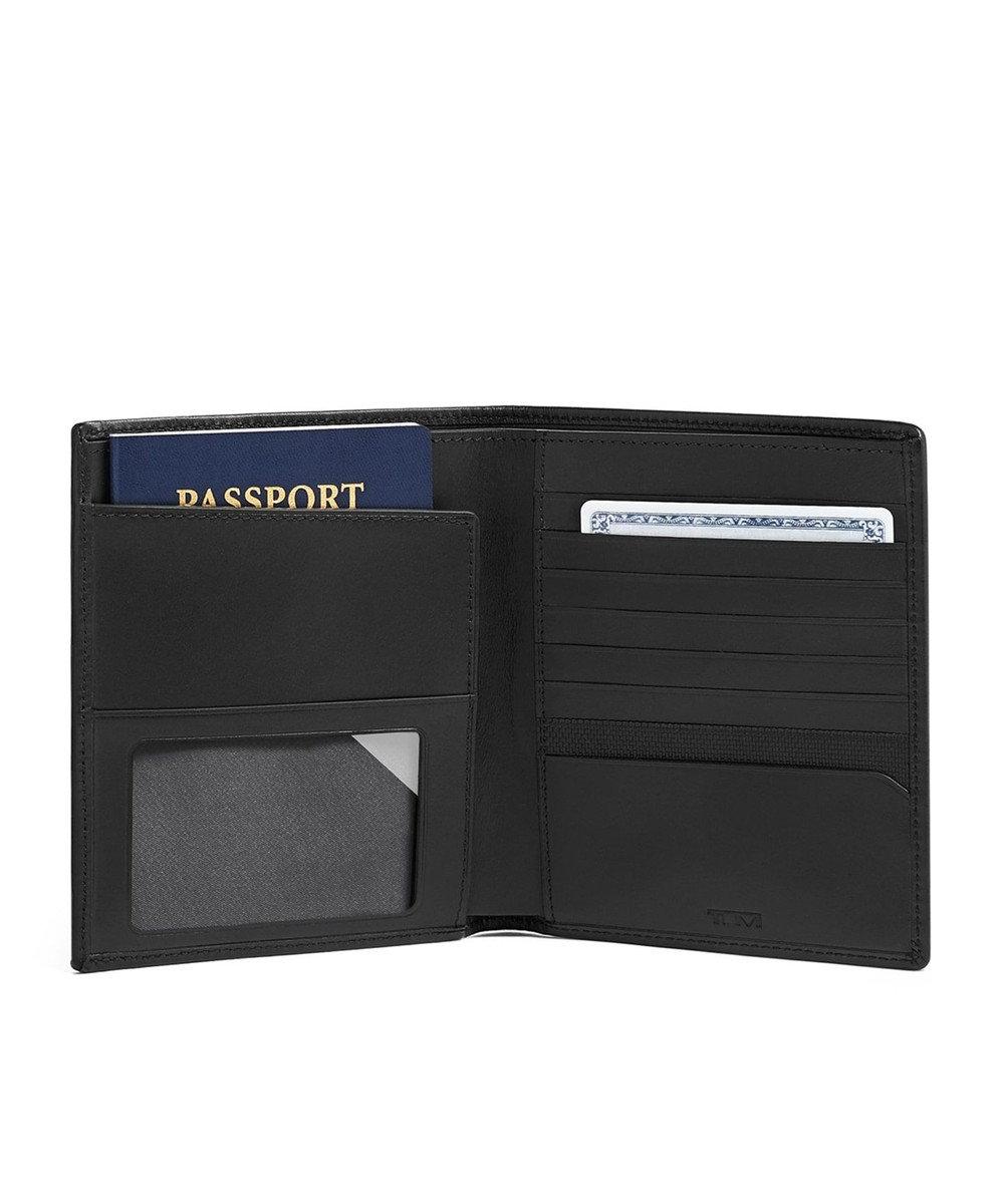TUMI メンズ  ALPHA SLG パスポート・ケース ブラック
