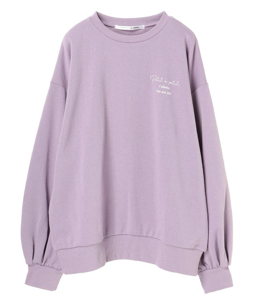 Green Parks ・RAY CASSIN フォトptウラケプルオーバー Lavender