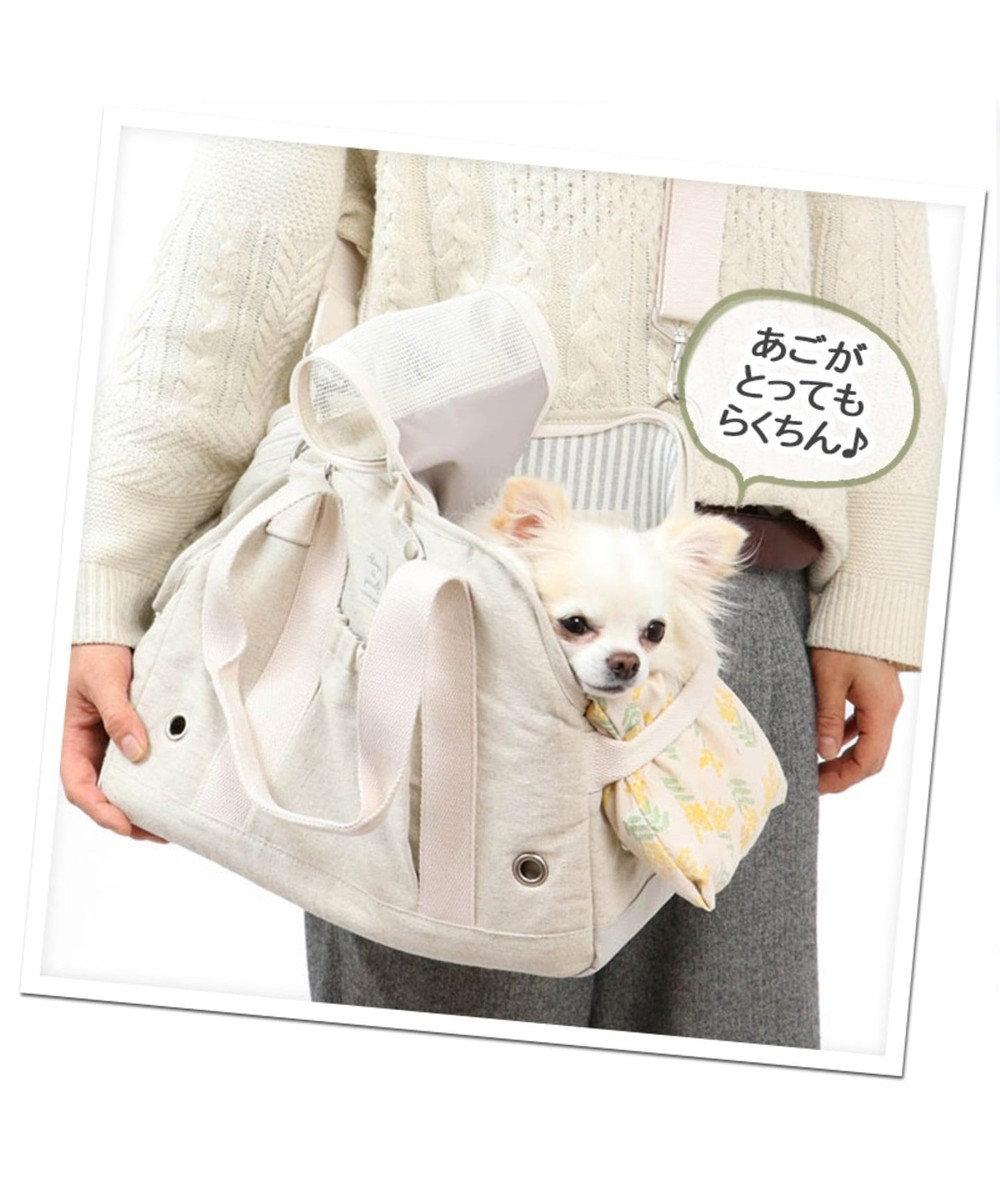 PET PARADISE 犬用品 ペットグッズ キャリーバッグ ペットパラダイス 犬 キャリー キャリーバッグ 【超小型犬】 ミモザ キャリーバック ショルダー イヌ ドック ペット用品 おしゃれ かわいい 猫 ベージュ