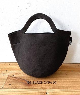 ROOTOTE 0256【環境にやさしい帽子みたいなルートート】/ RO.ポーノ.デリ-A 01:ブラック
