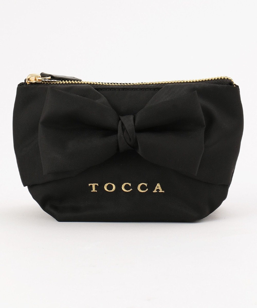 TOCCA RIBBON KNOT POUCH ポーチ ブラック系