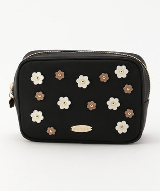 TOCCA FLOWER DROP POUCH ポーチ ブラック系