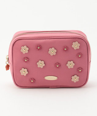 TOCCA FLOWER DROP POUCH ポーチ ピンク系