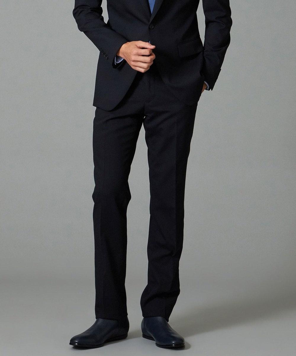 CK CALVIN KLEIN MEN 【スーツ】ミニスターウール パンツ ネイビー系