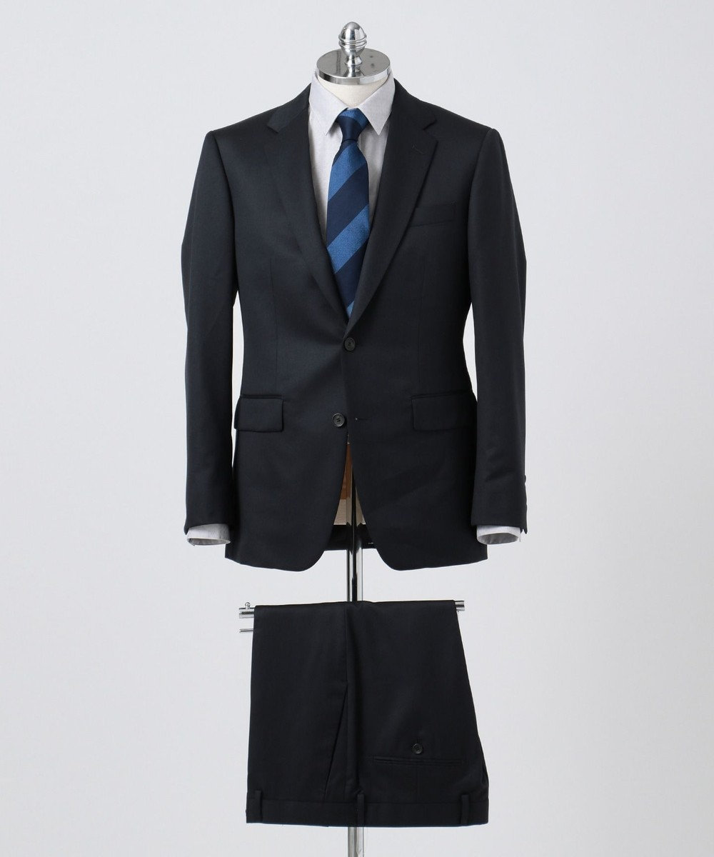 CK CALVIN KLEIN MEN 【スーツ】ミニスターウールギャバジン スーツパンツ ネイビー系