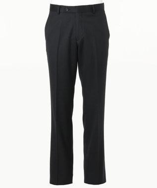 CK CALVIN KLEIN MEN 【スーツ】ミニスターウールギャバジン スーツパンツ ブラック系